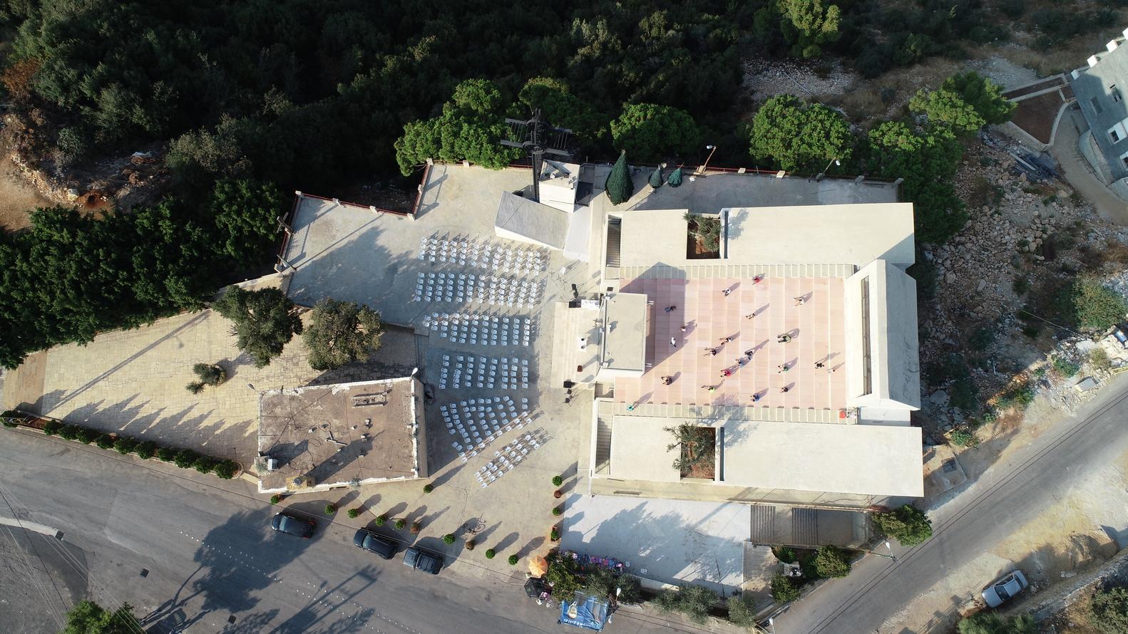 Iglesia Saint-Charbel / BLANKPAGE Architects