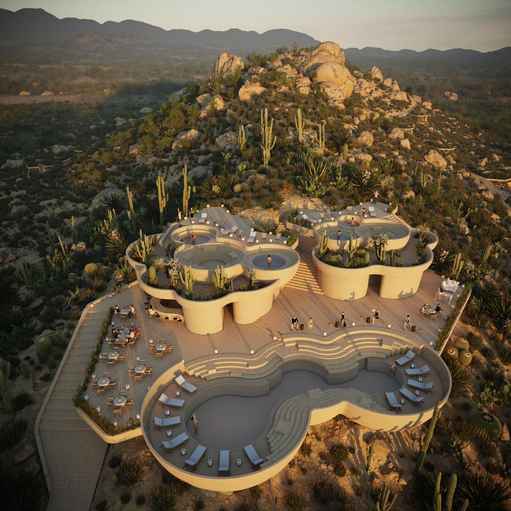 Rojkind Arquitectos + AmasA Estudio presentan proyecto 'UMMARA' ubicado en el Valle de Guadalupe